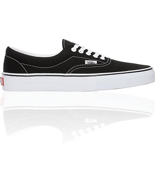 Vans Era Black Skate Shoes
