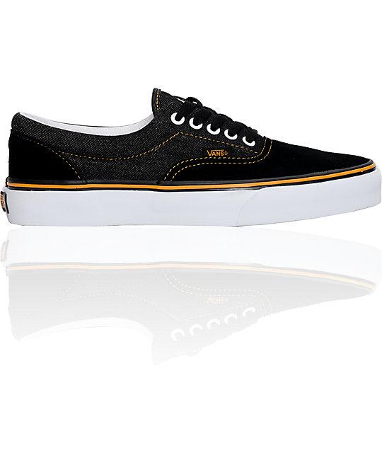 Vans Era Denim & Suede Skate Shoes (Mens)