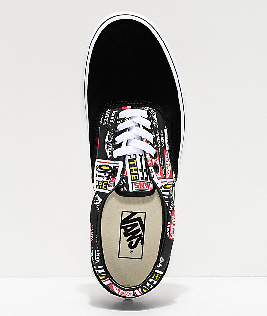 Era Label Mix Skate Vans Y De Negros Zapatos Blancos QdCtsrhx