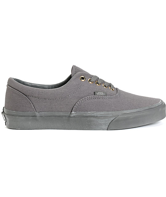 Vans Era Mono Grey Skate Shoes