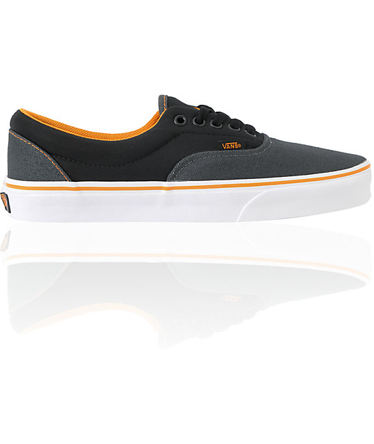 Vans Era Neoprene - Dark Shadow & Sun Orange Skate Shoes (Mens)