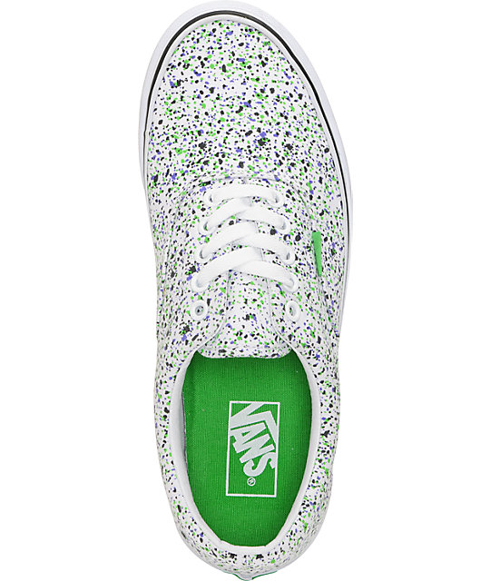 Vans Era Overspray True White Skate Shoes