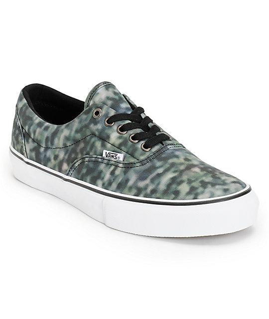 Vans Era Pro Static Black Skate Shoes (Mens)