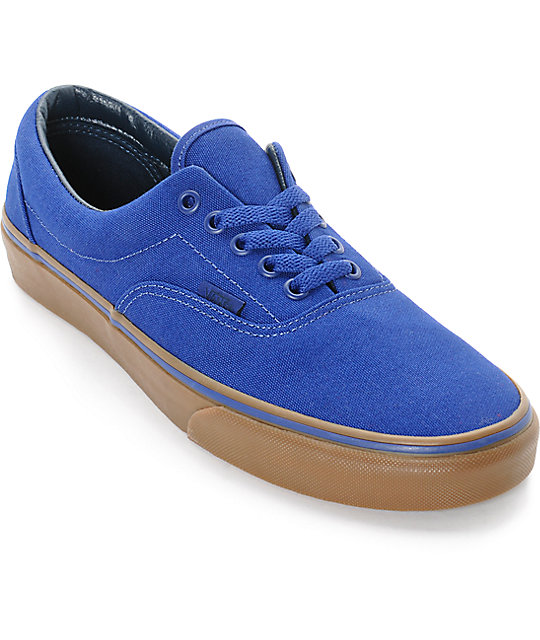 vans - men's era canvas (blueprint gum)
