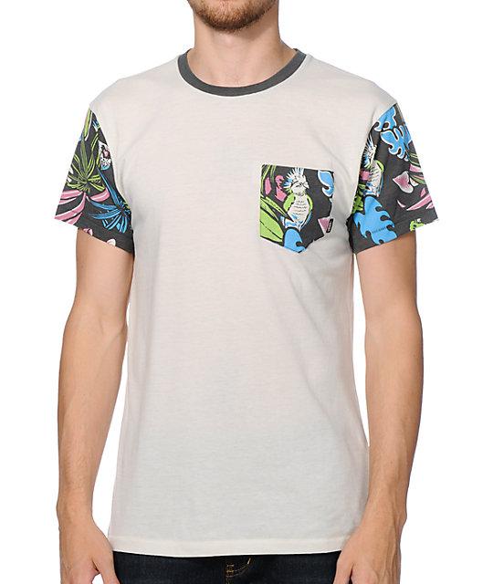 Vans Foster White Pocket T-Shirt