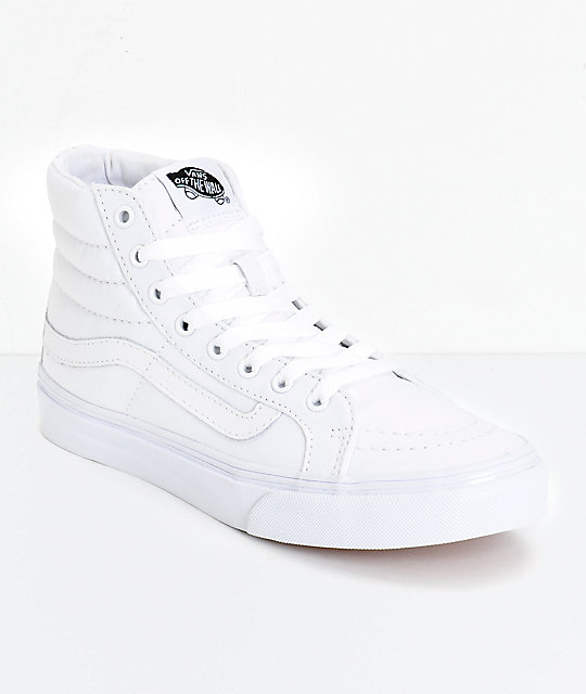 how to clean high top white vans