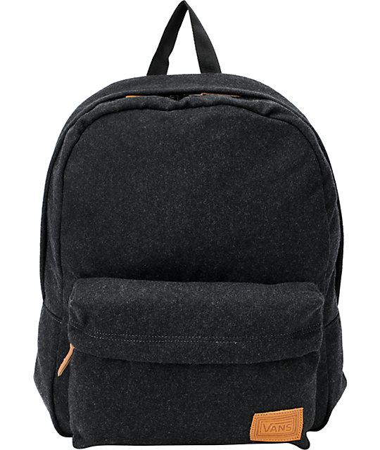 Vans Gizmo Grey Wool Backpack