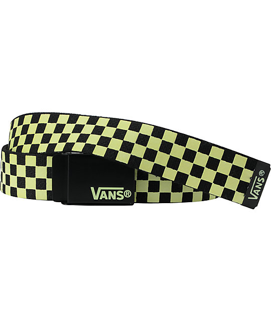 Vans Glow In The Dark Web Belt