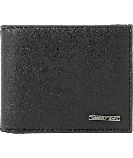 Vans Granger Black Bifold Wallet
