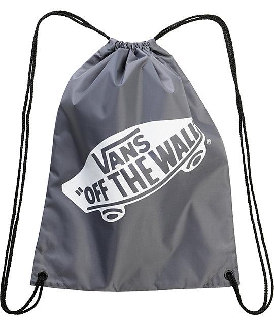 Vans Grey Benched Drawstring Bag
