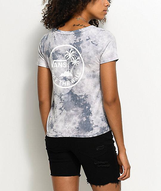 Vans Grey Ridge Skim Circle Palm T-Shirt