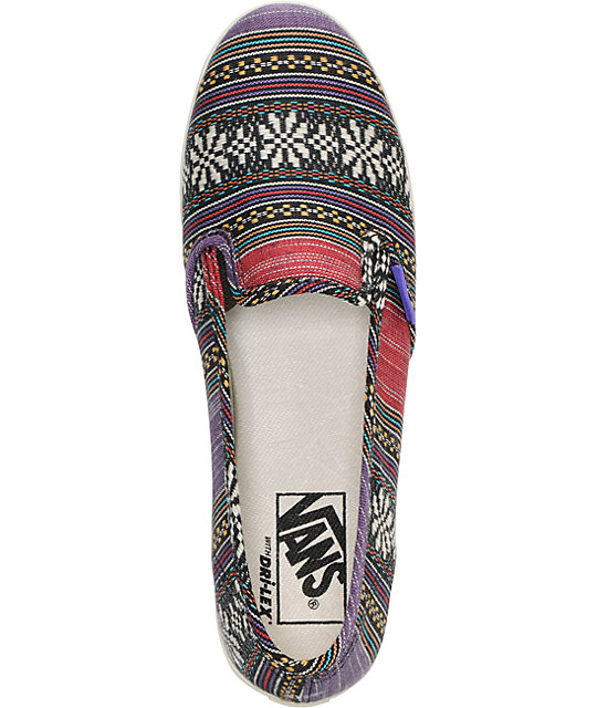 Vans Guate Stripe Slip-On Lo Pro Shoes