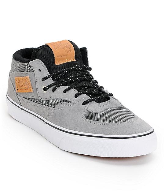 Vans Half Cab Ballistic & Wild Dove Suede Skate Shoes (Mens)