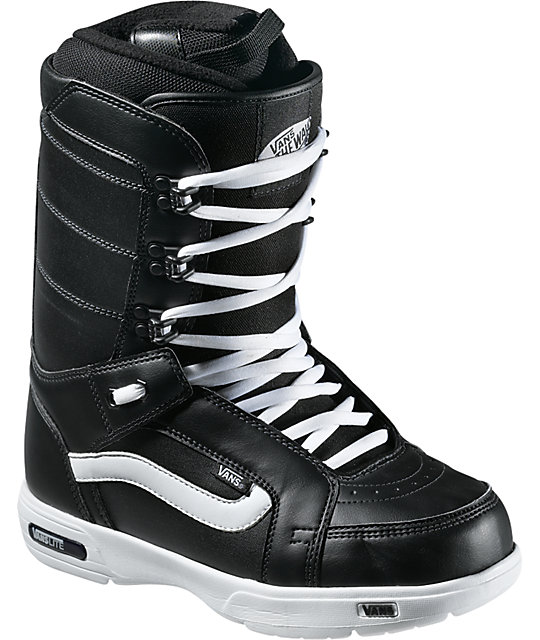 Vans Hi-Standard Black Mens Snowboard Boots