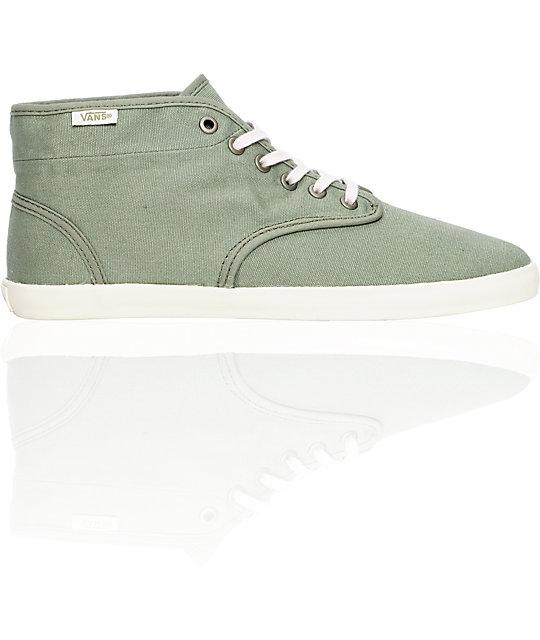 Vans Houston Arabesque Green Shoes