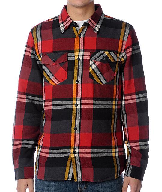 Vans Inglewood Red Flannel Shirt
