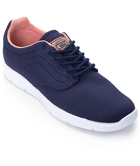 Vans Iso 1.5 Eclipse Blue Womens Shoes at Zumiez : PDP