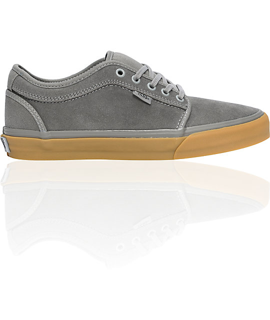 Vans Jamie Hart Charcoal & Gum Chukka Low Skate Shoes