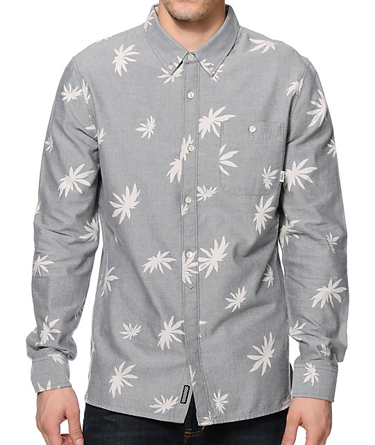 Vans La Palma Long Sleeve Button Up Shirt
