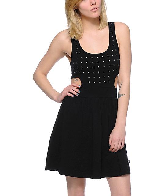 Vans Libbey Black Studded Dress