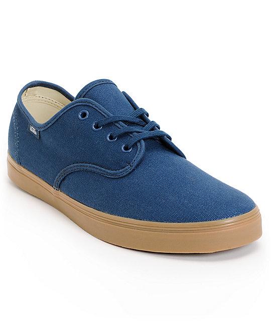 Vans Madero Denim & Gum Skate Shoes