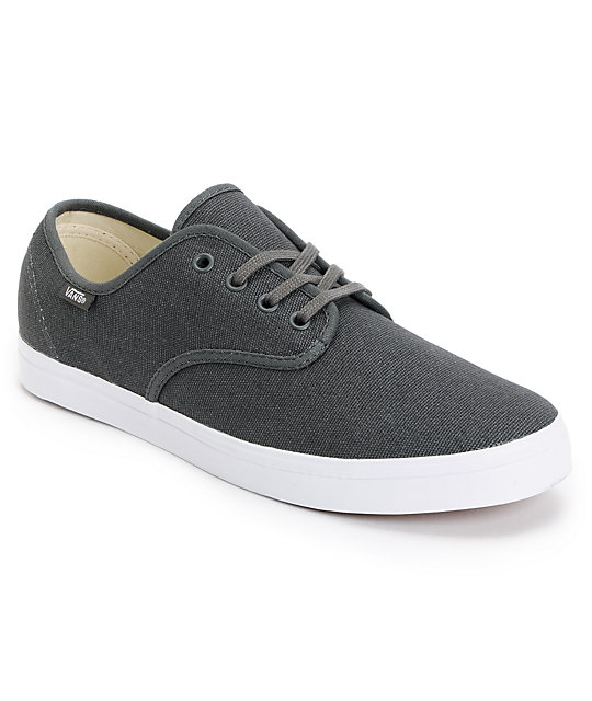 Vans Madero Grey & White Skate Shoes