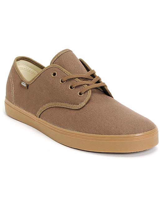 Vans Madero Shitake & Gum Skate Shoes