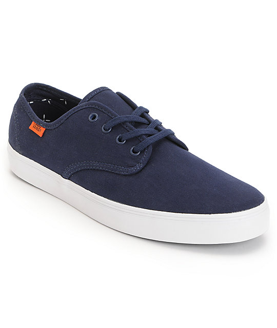 Vans Madero Twill Pea Coat Skate Shoes (Mens)