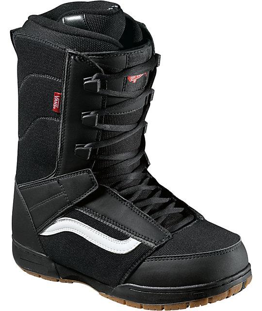 Vans Mantra Black Mens Snowboard Boots