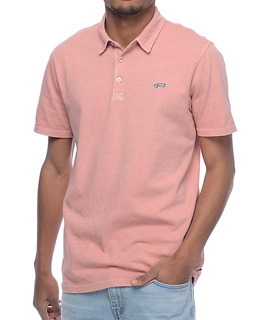 Vans Marko Rose Pigment Polo Shirt