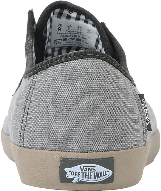 Vans Michoacan Grey, Black, & Gum Skate Shoes