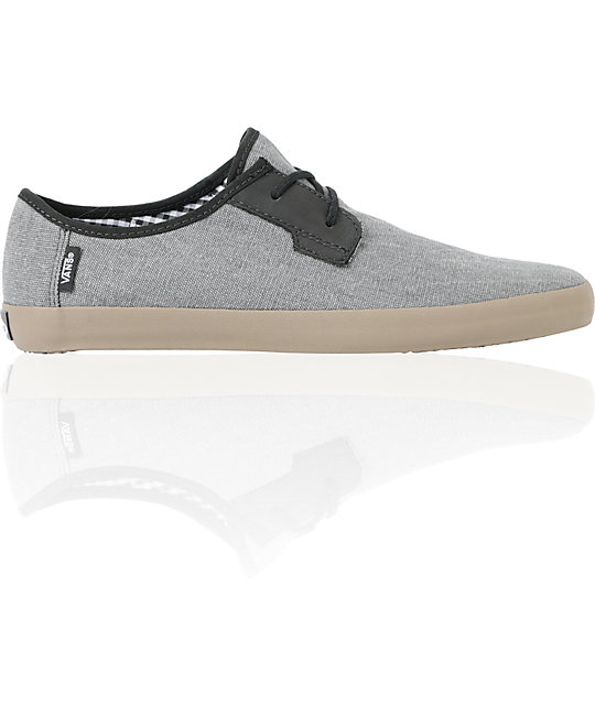 Vans Michoacan Grey, Black, & Gum Skate Shoes