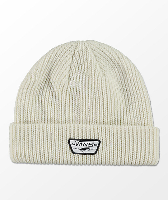 Vans Mini Full Patch White Beanie