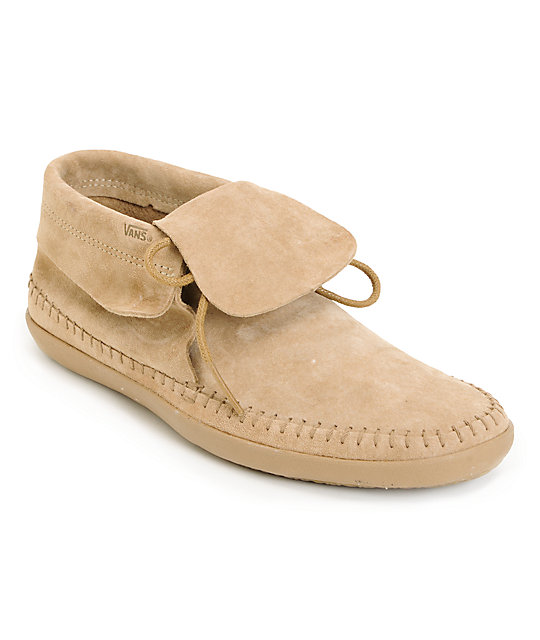 Vans Mohikan Mid Camel Tan Shoes (Womens)