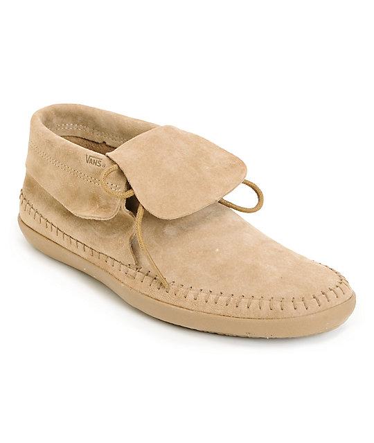 Vans Mohikan Mid Camel Tan Shoes (Womens)