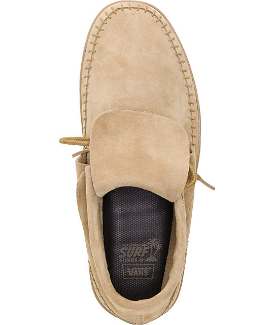 Vans Mohikan Mid Camel Tan Shoes