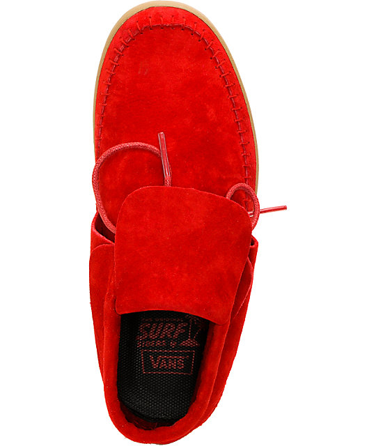 Vans Mohikan Mid Chili Pepper Red Shoes