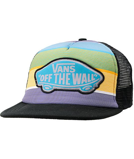 Vans OC Kipahula Turquoise & Aqua Trucker Hat