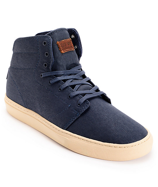 Vans OTW Alcon Oiled Blues Mid Top Skate Shoes (Mens)
