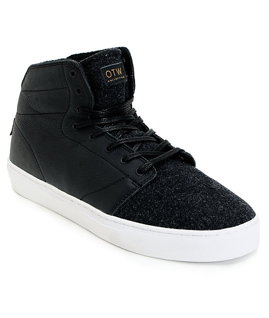 mens white leather vans high tops