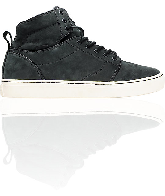 Vans OTW Alomar Antique Black Nubuck Skate Shoes (Mens)