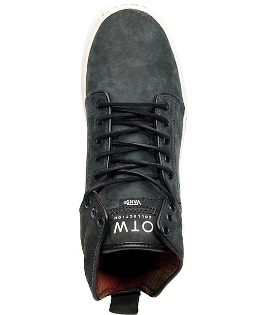 Vans OTW Alomar Antique Black Nubuck Skate Shoes