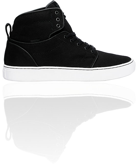 Vans OTW Alomar Black Canvas Skate Shoes (Mens)