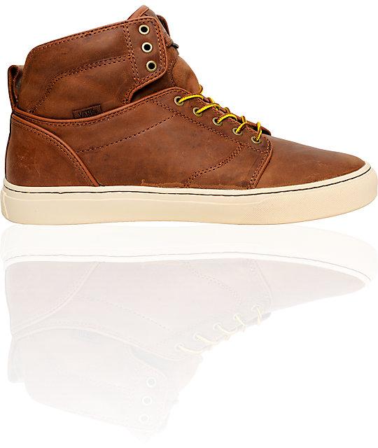 Vans OTW Alomar Brown Premium Skate Shoes