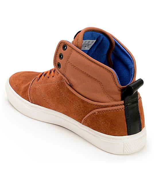 vans canvas leather