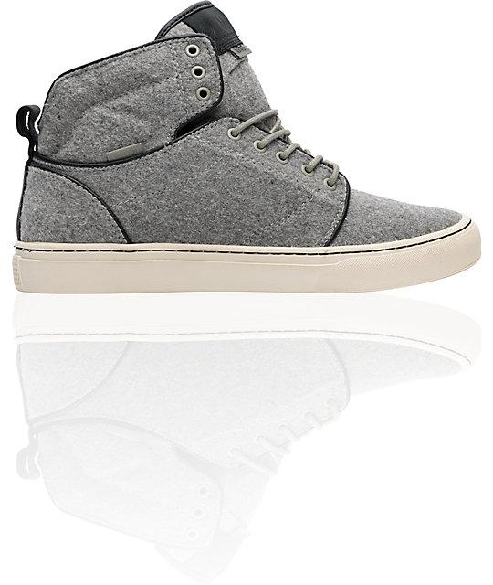 Vans OTW Alomar Rock Grey Wool Skate Shoes