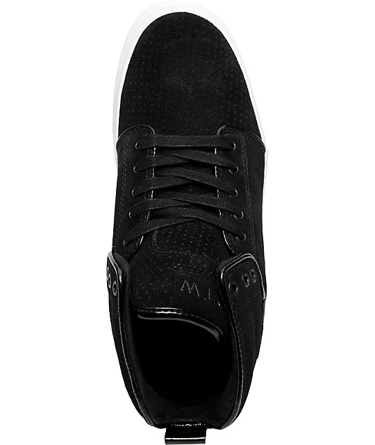 Vans OTW Alomar White & Black Suede Skate Shoes