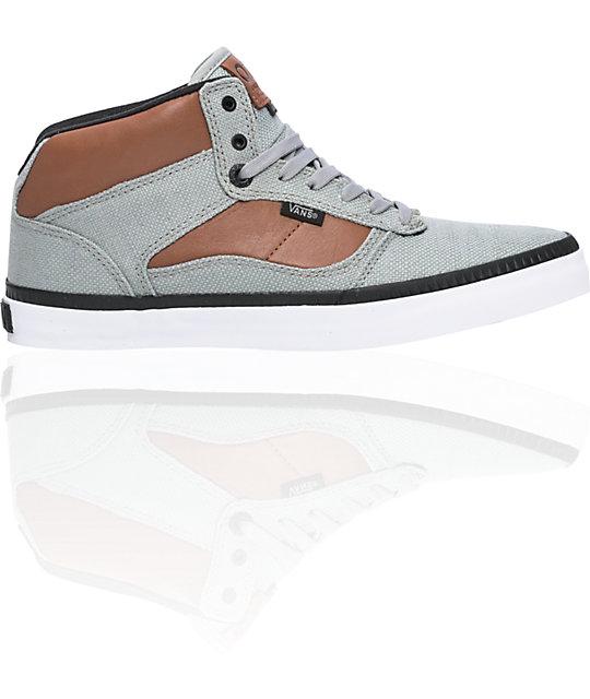 Vans OTW Bedford Grey & Brown Skate Shoes