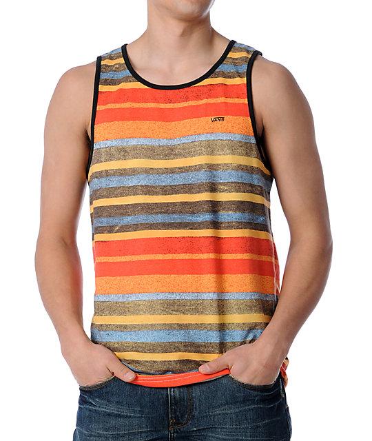 Vans OTW Colorant Orange Knit Tank Top