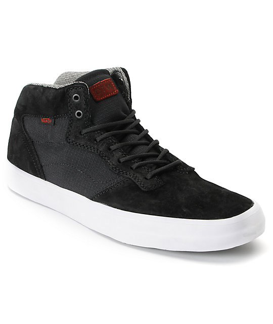 Vans OTW Piercy Black Ballistic Skate Shoes